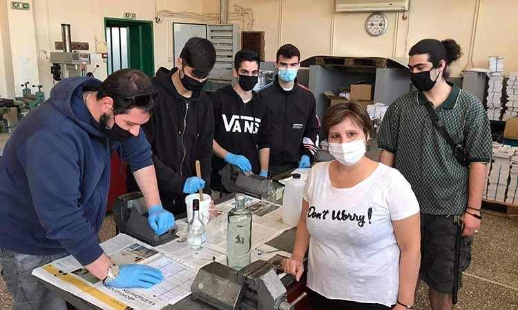 Πειραματική μετατροπή τηγανελαίου σε βιοντίζελ από μαθητές στο 3ο ΕΠΑ.Λ. Χαλανδρίου