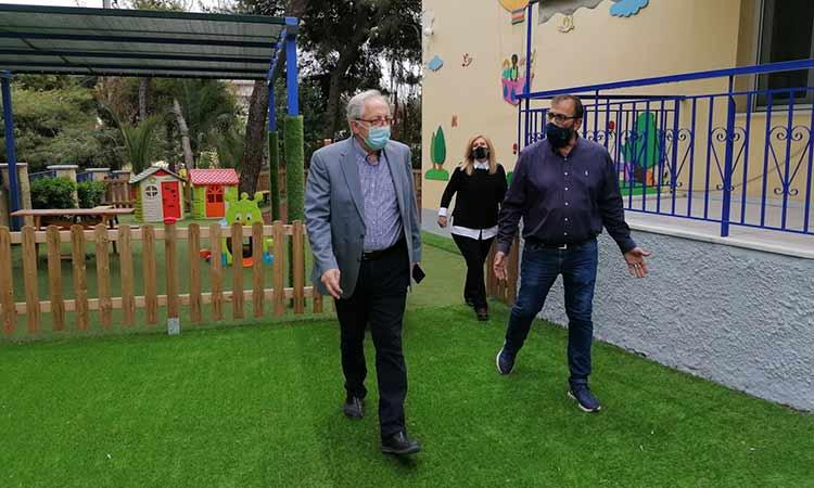 Επιθεώρηση δημάρχου Αμαρουσίου στους παιδικούς και βρεφονηπιακούς σταθμούς Πολυδρόσου, Σωρού και Κοκκινιάς