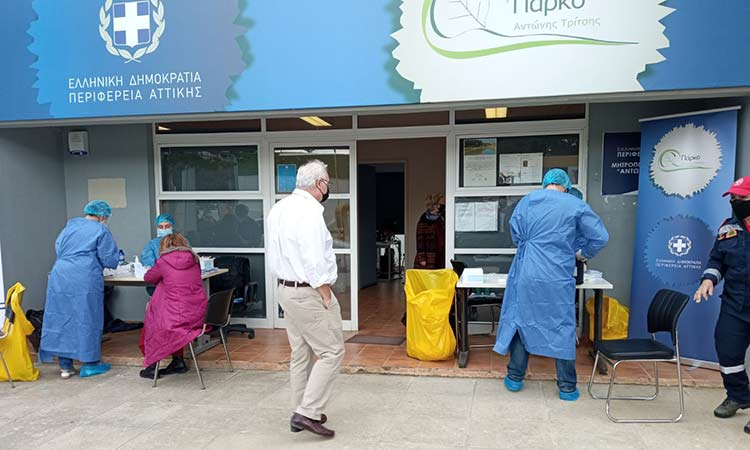 3.920 rapid tests στην Αττική από Περιφέρεια και ΙΣΑ σε μία εβδομάδα