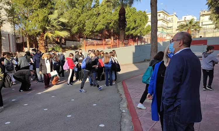 Χωρίς προβλήματα το άνοιγμα των λυκείων στον Δήμο Ηρακλείου Αττικής