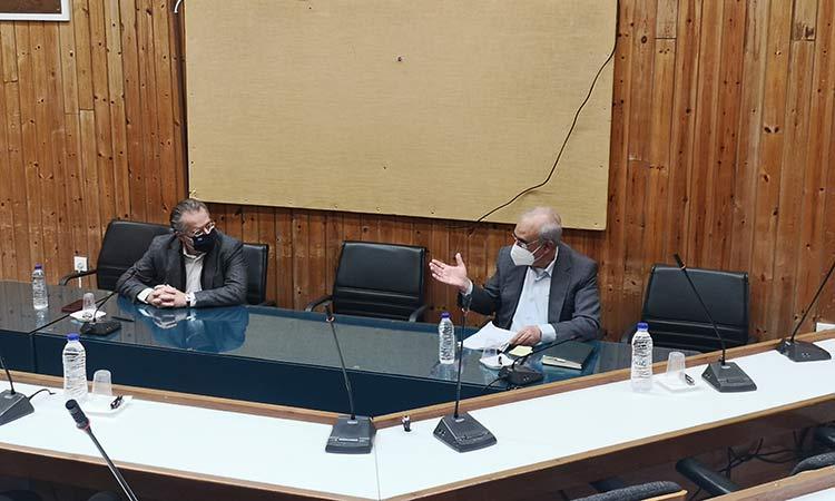 Γ. Θωμάκος και Γ. Κουμουτσάκος συζήτησαν για όλα τα θέματα του Δήμου Κηφισιάς