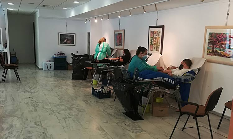 95 άτομα συμμετείχαν στην εθελοντική αιμοδοσία του Δήμου Λυκόβρυσης-Πεύκης