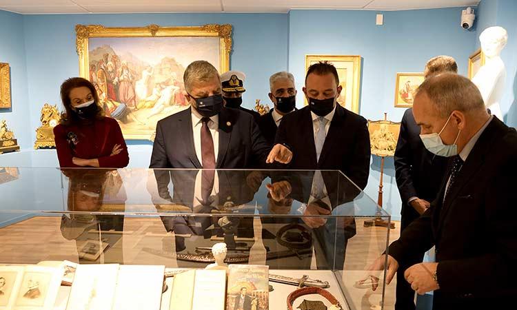 Στα εγκαίνια της έκθεσης για τους Αμερικανούς φιλέλληνες στο νέο Μουσείο Φιλελληνισμού ο Γ. Πατούλης