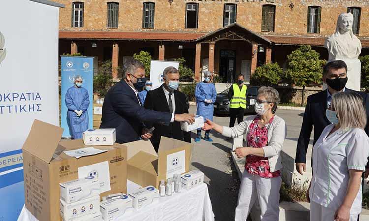 Με επιτυχία ολοκληρώθηκε η διενέργεια rapid tests στο Γηροκομείο Αθηνών