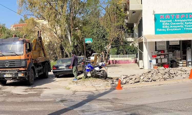 Ανακατασκευή και συντήρηση πεζοδρομίων σε κεντρικά σημεία του Δήμου Πεντέλης