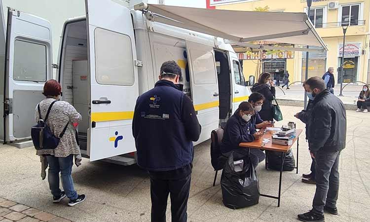 Rapid tests Covid-19 για όλον τον Μάιο στην πλατεία Ευτέρπης Αμαρουσίου