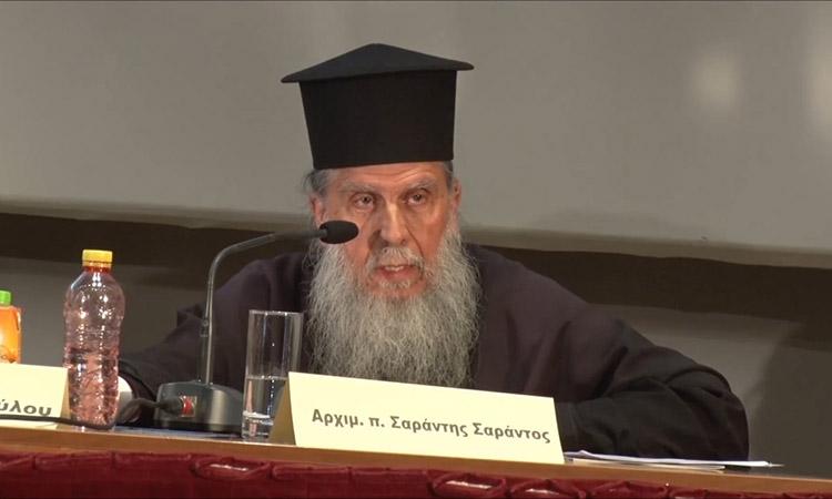 Μήνυμα δημάρχου Αμαρουσίου για την απώλεια του αρχιμανδρίτη π. Σαράντη Σαράντου