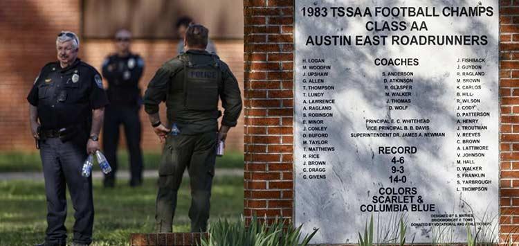 Τενεσί: Αστυνομικοί σκότωσαν μαθητή σε λύκειο που άνοιξε πυρ εναντίον τους