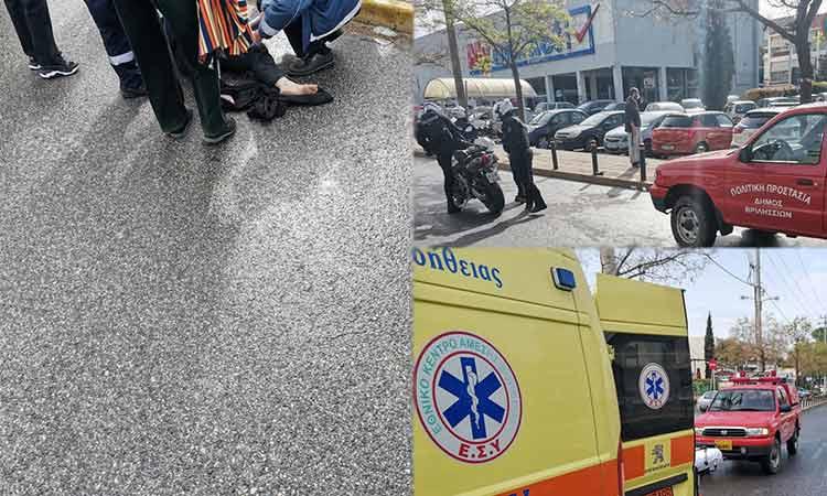 Αυτοκίνητο παρέσυρε γυναίκα στη Λ. Πεντέλης στα Βριλήσσια
