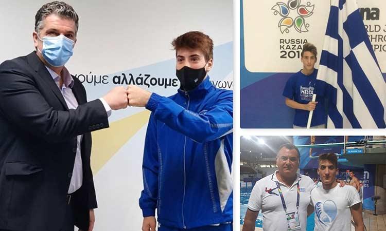 Στο Τόκιο, με τη σκέψη στους Ολυμπιακούς και τις ευχές του δημάρχου και όλων των Βριλησσιωτών, ο αθλητής Θάνος Τσιρίκος