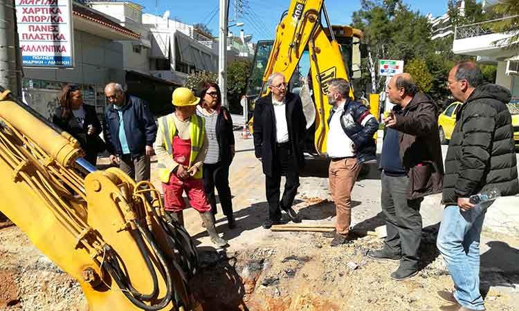 Θ. Αμπατζόγλου: Αντιπλημμυρική θωράκιση για το κέντρο του Αμαρουσίου – Οι διεκδικήσεις δεν σταματούν