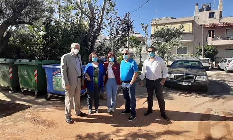 Αυτοψία του δημάρχου Αμαρουσίου σε έργα στις περιοχές Πολυδρόσου & Σωρού