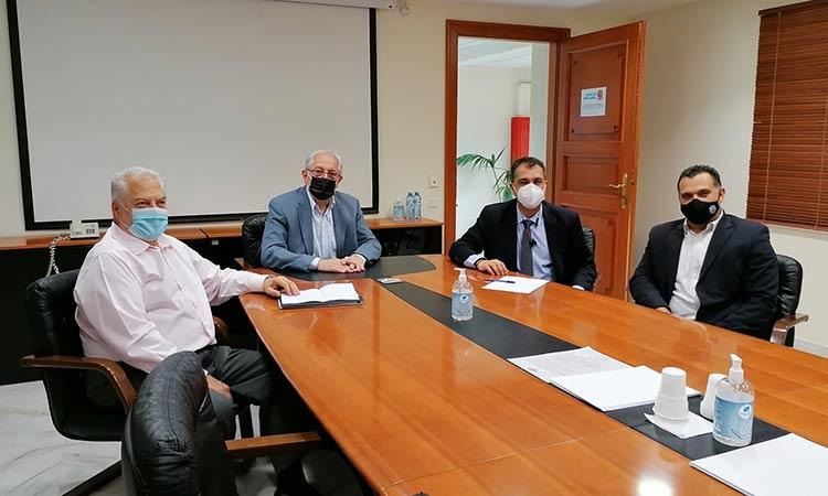 Συνάντηση Θ. Αμπατζόγλου με τον νέο πρόεδρο ΙΓΕ Διονύση Κυριακόπουλο