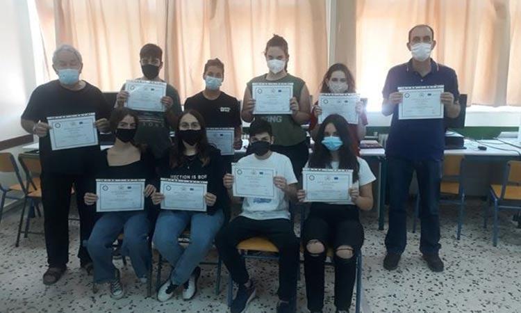 Οκτώ μαθητές του 5ου Γυμνασίου Ηρακλείου Αττικής συμμετείχαν στο πρόγραμμα Erasmus+