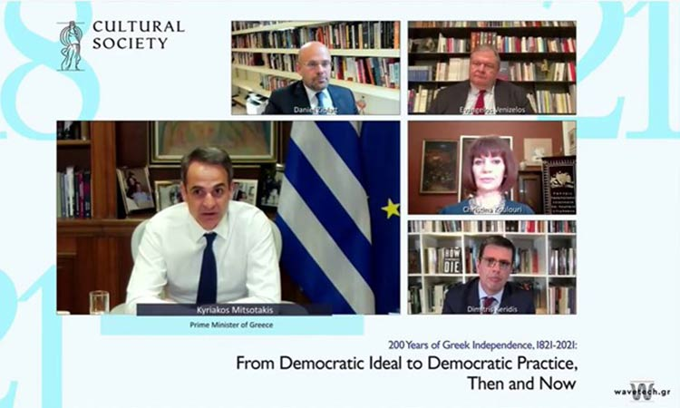 Όσα ειπώθηκαν στη συζήτηση Μητσοτάκη-Ziblatt για την πορεία της δημοκρατίας σε Ευρώπη και Αμερική
