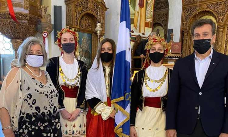 Ο Σύλλογος Κρητών Ν. Ψυχικού τίμησε τη μνήμη των πεσόντων στη Μάχη της Κρήτης