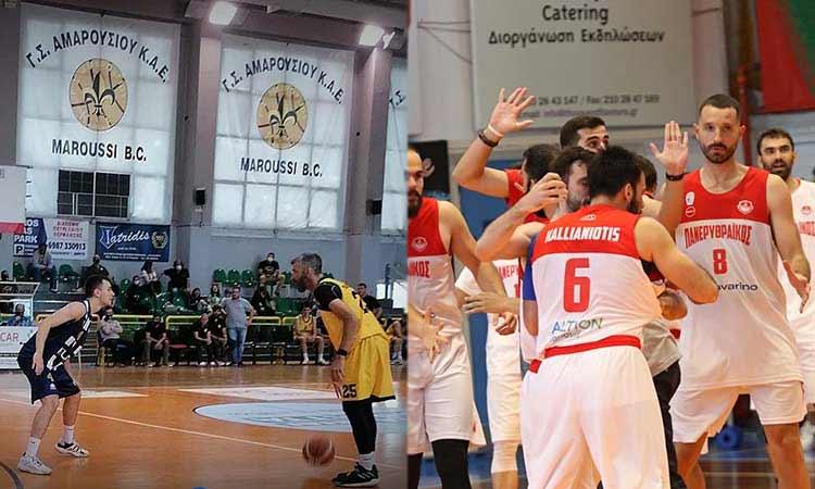 Νίκες για Μαρούσι και Πανερυθραϊκό στη 15η αγωνιστική της Α2 μπάσκετ ανδρών – «Πάτησαν» κορυφή