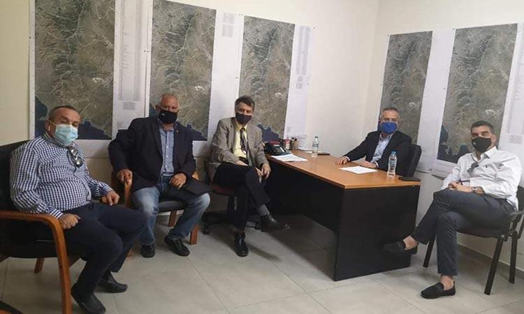 Για την τρέχουσα αντιπυρική περίοδο συζήτησαν Ηλ. Αποστολόπουλος και πρόεδρος ΣΠΑΥ