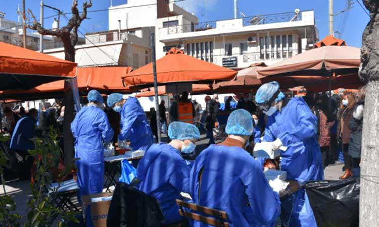 Δωρεάν rapid tests για τους κατοίκους Βριλησσίων την Τετάρτη 29 Σεπτεμβρίου