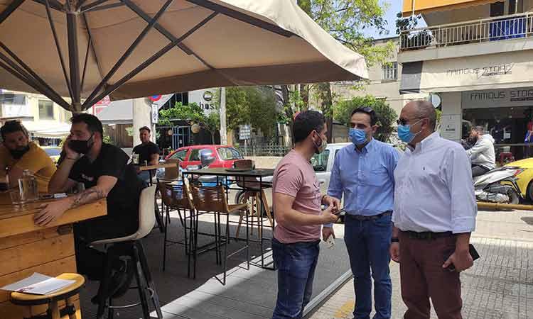 Άνοιξε στο σύνολό της η εστίαση στο Ηράκλειο Αττικής – Η βοήθεια του Δήμου