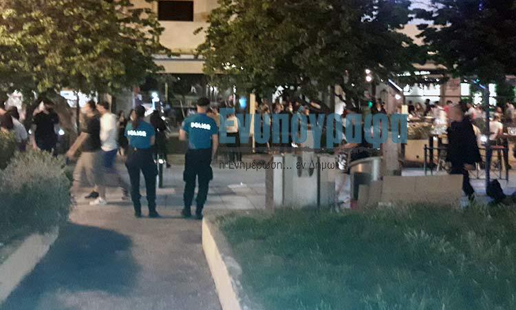 Καταδικάζει τα αστυνομικά μέτρα αποκλεισμού στην πλατεία Άη Γιάννη η Κ.Ο. ΚΚΕ Αγ. Παρασκευής