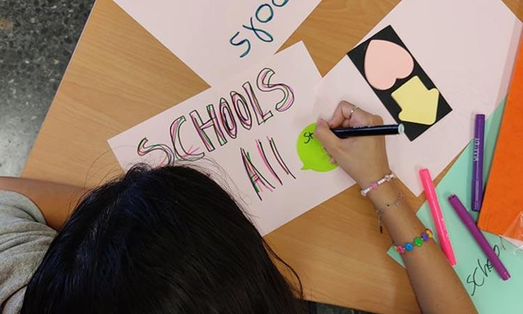 Webinar με θέμα την εκπαίδευση προσφύγων στο ελληνικό σχολείο από το έργο «Σχολεία για όλους»