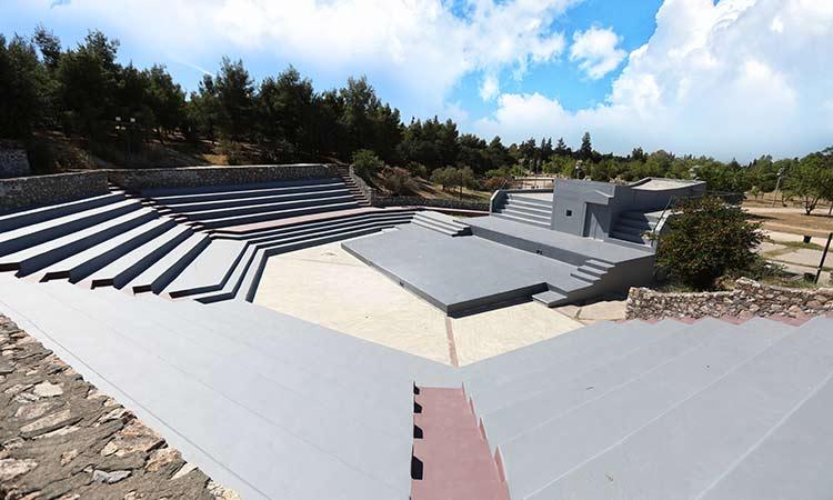 Έτοιμο να δεχθεί το κοινό το ανοικτό θέατρο στο πάρκο «Αντώνης Τρίτσης»