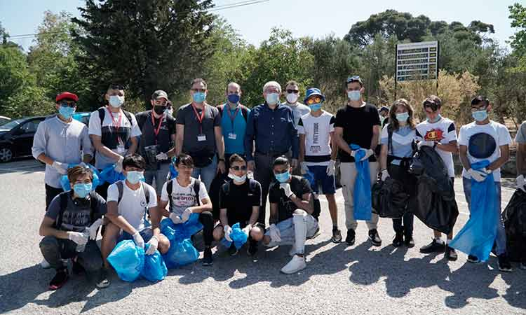 Ηλεκτρονική υποβολή δήλωσης ενδιαφέροντος για συμμετοχή στο Δίκτυο Εθελοντών Δήμου Αμαρουσίου