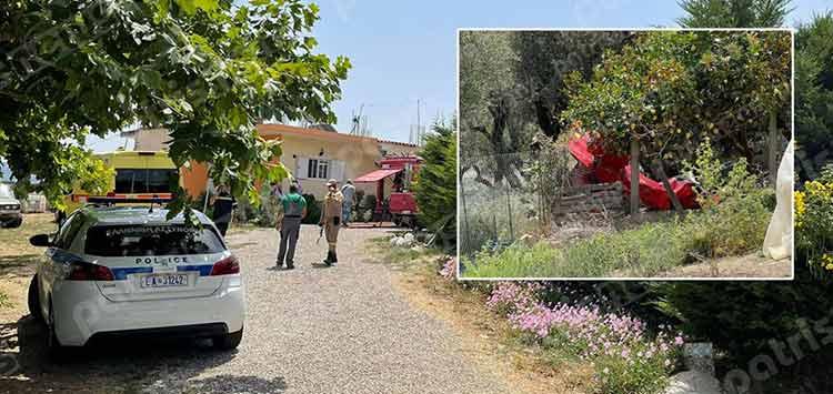 Πτώση αεροσκάφους στην Ηλεία: Με καταγωγή από το χωριό ο χειριστής – Ποιος ήταν ο συγκυβερνήτης