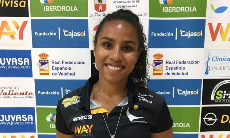 Παίκτρια του ΑΟΝΝΝΕ Αμαζόνες η Carla Moreira de Sousa