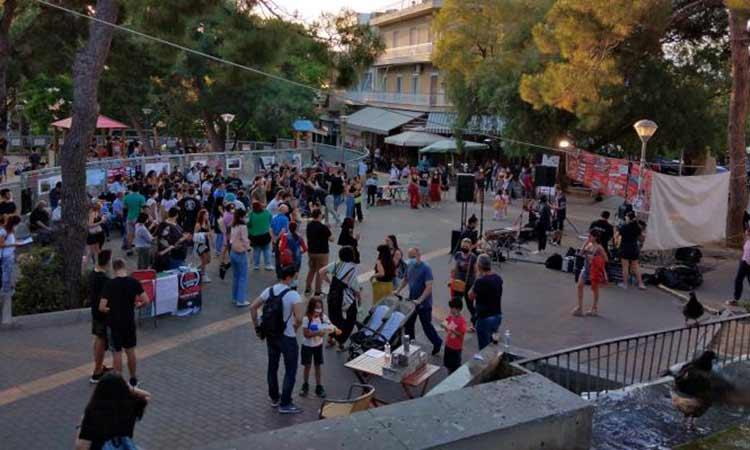 Επιτυχώς ολοκληρώθηκε το Μαθητικό Φεστιβάλ της ΚΝΕ στο Χαλάνδρι
