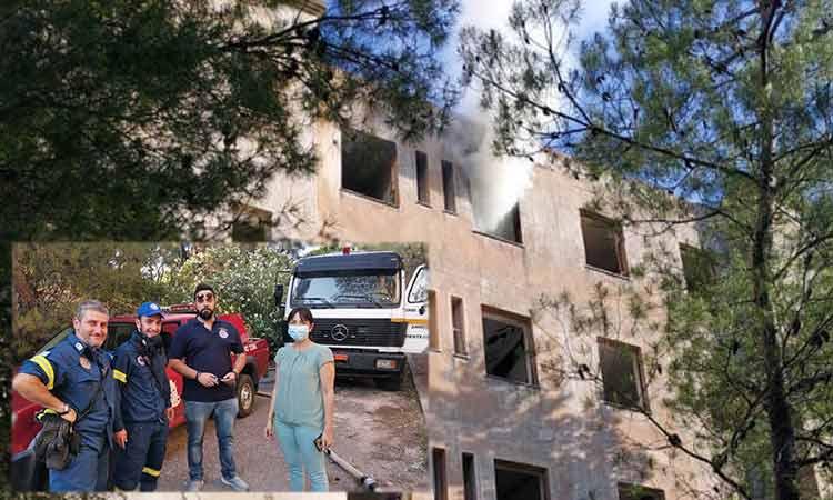 Μικρή εστία φωτιάς στο ΝΙΕΝ, στα Μελίσσια – Σβήστηκε άμεσα καθώς υπήρξε άμεση κινητοποίηση