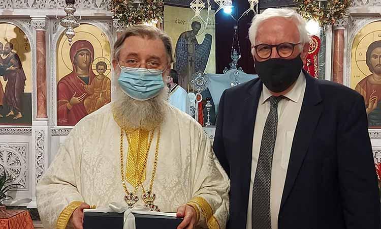 Σε ιερά αγρυπνία στον Ι.Ν. Πέτρου & Παύλου Πεύκης ο Π. Ιωάννου
