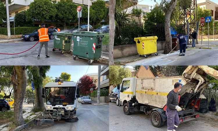 «Επιχείρηση» καθαριότητα στο Χαλάνδρι – Συστηματικές εβδομαδιαίες εξορμήσεις στις γειτονιές