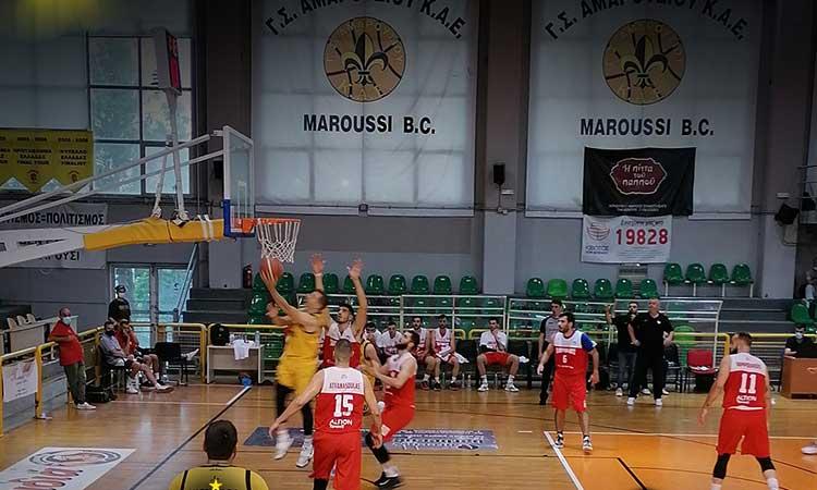 Α2 μπάσκετ Ανδρών (Β' γύρος): Τεράστιο «διπλό» του Πανερυθραϊκού επί του Αμαρουσίου με 103-96