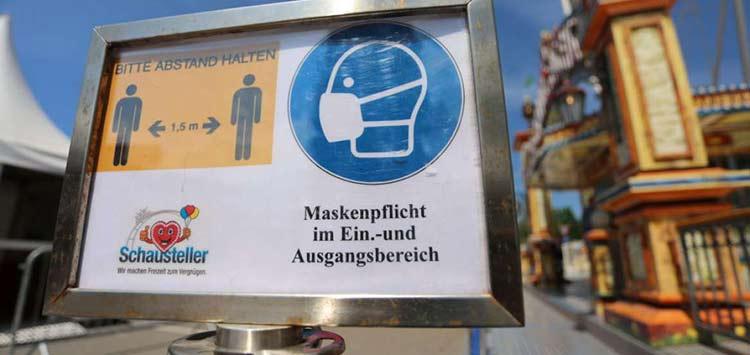 Γερμανία: Ακατάλληλες μάσκες θα έδινε σε άστεγους, άνεργους και ΑμεΑ
