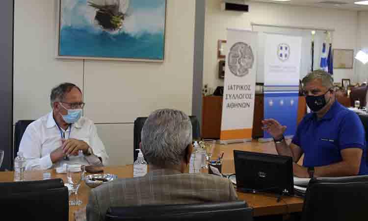 Για διαχείριση αποβλήτων και αναπτυξιακά έργα στην Πετρούπολη συζήτησαν δήμαρχος και περιφερειάρχης Αττικής