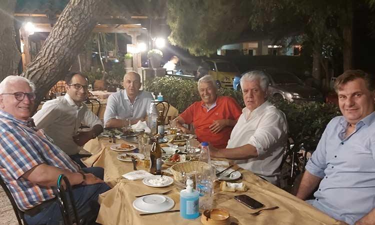 Π. Ιωάννου, Β. Ζορμπάς και Στρ. Σαραούδας συζήτησαν με τον πρόεδρο Κτ.Υπ. Α.Ε. για την Τ.Α.