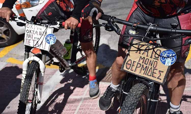 Δ. Θωμαΐδου: Προωθούμε το ποδήλατο ως μέσο μετακίνησης στη Νέα Ιωνία