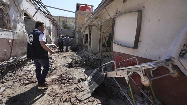 Συρία: Εκτός λειτουργίας το νοσοκομείο που βομβαρδίστηκε στην Αφρίν – Στους 21 οι νεκροί