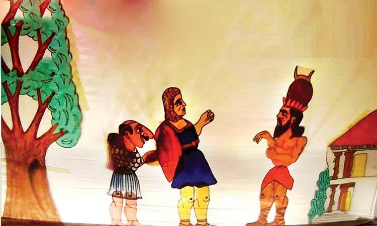 Θέατρο σκιών και κουκλοθέατρο στις γειτονιές του Χαλανδρίου