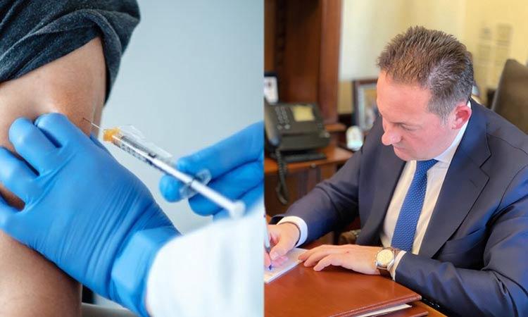 Επιστολή Στ. Πέτσα προς δημάρχους για ενίσχυση του εμβολιαστικού προγράμματος