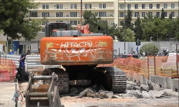 Την κατανόηση των συμπολιτών του για την όχληση από τα έργα ζητεί ο δήμαρχος Παπάγου-Χολαργού