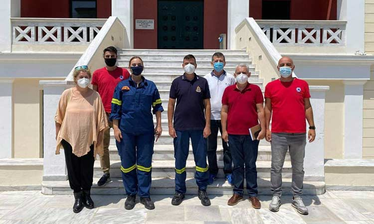 Ενημέρωση για ενίσχυση της πυροπροστασίας πραγματοποιήθηκε στο δημαρχείο Πεύκης