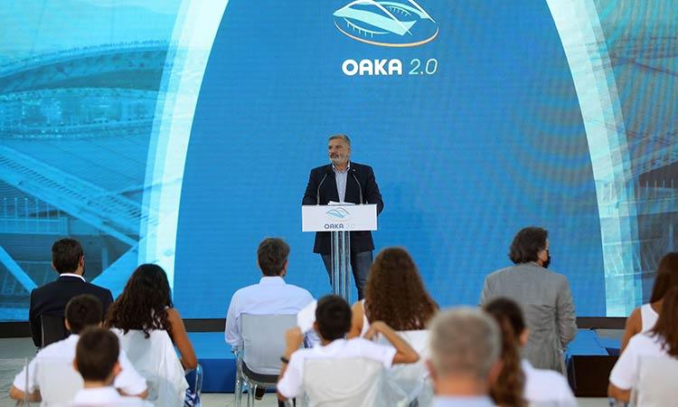 Γ. Πατούλης: Συμμετέχουμε στην ανάπλαση του ΟΑΚΑ – Συμβάλλουμε στη δημιουργία ενός υπερτοπικού πόλου αθλητισμού