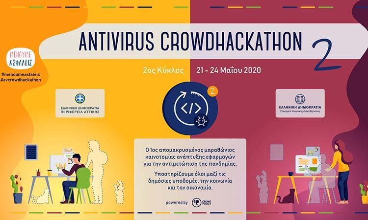 Ο «Antivirus Crowd Hackathon» στους δύο εθνικούς νικητές στα Ευρωπαϊκά Βραβεία Προώθησης της Επιχειρηματικότητας