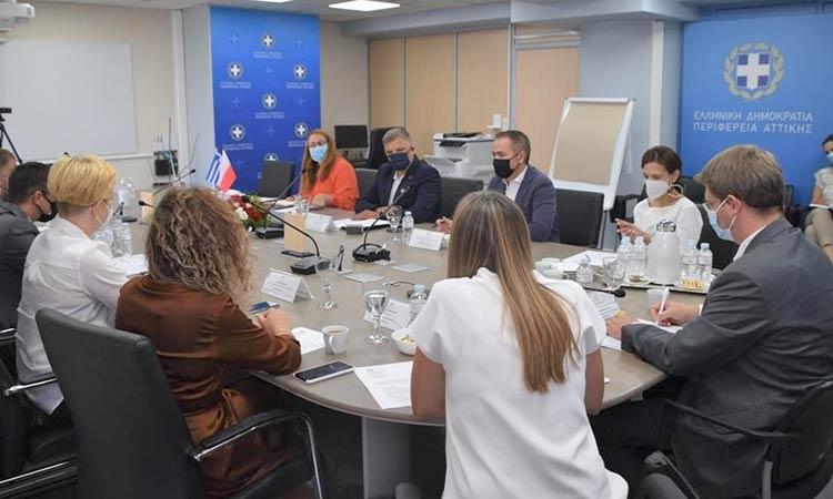 Συνεργασία Περιφέρειας Αττικής με την Πρεσβεία της Πολωνίας για κοινές αναπτυξιακές δράσεις