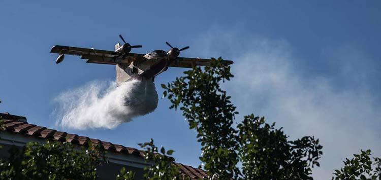 Φωτιά στον Βαρνάβα – Άμεση κινητοποίηση της Πυροσβεστικής
