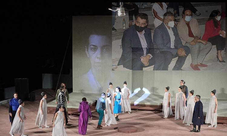 Με τις «Φοίνισσες» του Ευριπίδη ξεκίνησε το φεστιβάλ θεάτρου στο Αττικό Άλσος