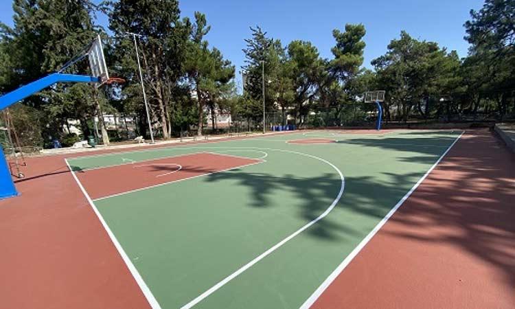 Στη διάθεση των πολιτών το ανοιχτό γήπεδο μπάσκετ «Χ. Χαντζόπουλος» του Δήμου Παπάγου-Χολαργού